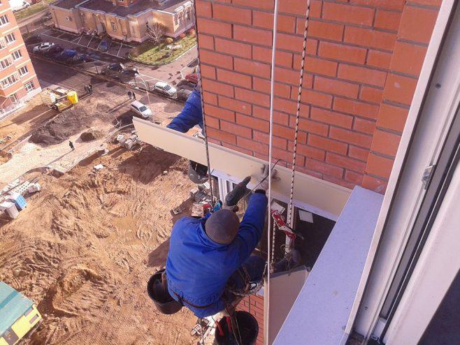 Читать: Внешняя отделка стен и ремонт межэтажных поясков