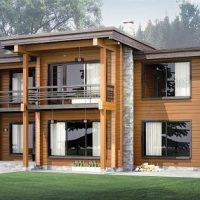 Проектирование и строительство домов из клееного бруса