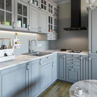 Оснащение кухонной рабочей зоны
