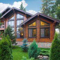 Экологичный дом из бруса