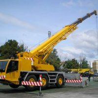 Автокран «Либхер» 70 тонн в аренду