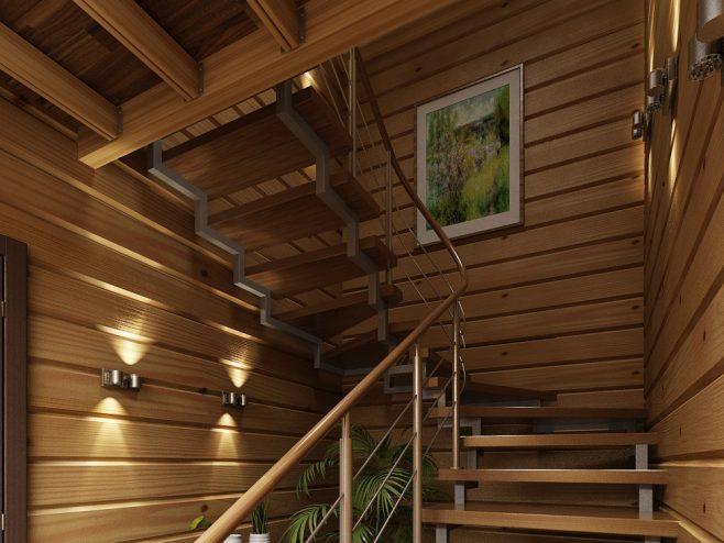 Читать: Преимущества домов из двойного бруса