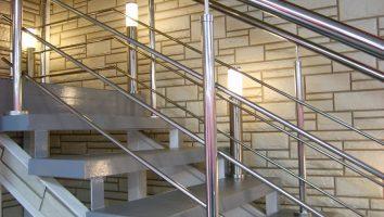 Перила-нержавейка для лестниц любых параметров